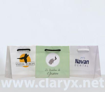 хартиени торбички с печат