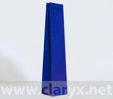Хартиени торбички 9+8x39см, ВB/K, тъмно сини, 10бр.