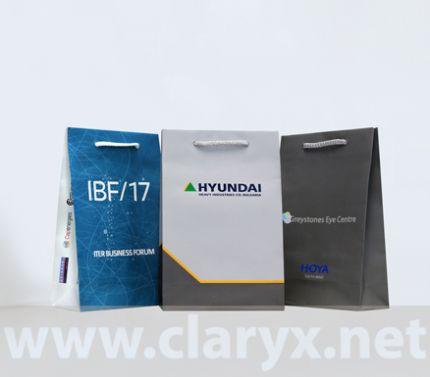 PROMOTIONAL PAPER BAGS 16+7х25