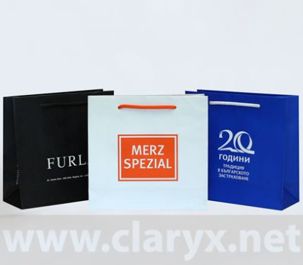 PROMOTIONAL PAPER BAGS 24+9x23
